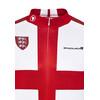 Endura CoolMax England II Koszulka kolarska Mężczyźni czerwony/biały